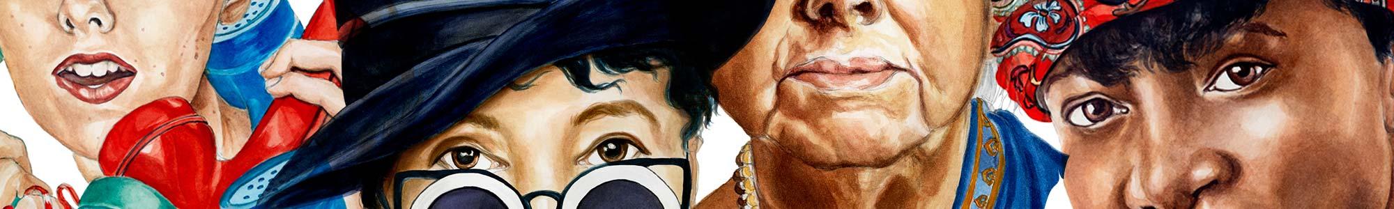Illustration teaser for Women Who Made New York